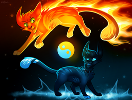 Fire and Ice by KatieR66