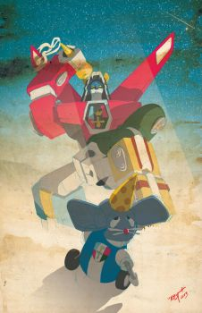 29 Years of Voltron by RBST