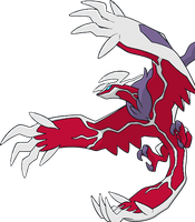 Shiny Yveltal Dream World Art by TrainerParshen