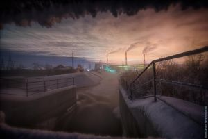 Warm Station at -37C by SeventhSon77