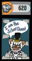 I am the silver queen! by LolipopsArt