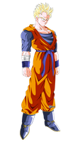 gohan the future by naironkr