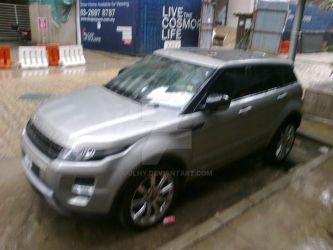 Evoque in the rain 2 by jlhy
