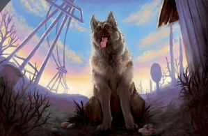 Dogmeat by SpaceSmilodon