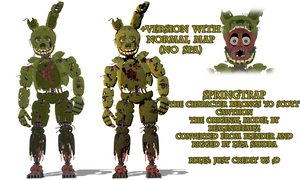 [FNaF 3] Springtrap. Download! by LizaSakura