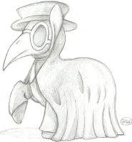 Plague Pony by PaperWii