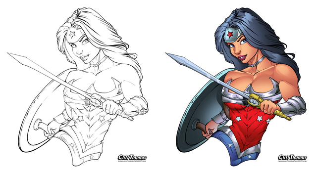Ww Lines Inked By Cliffthomas-dav0wdo by Tomas-M91