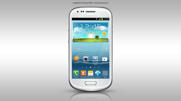 Photoshop'da Samsung Galaxy S 3 Mini Yapimi by themt