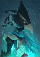 Revali- Legend of Zelda Breath of the Wild by EstaArt