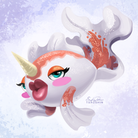 118 - Goldeen by TsaoShin