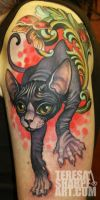 belle the sphynx by Phedre1985