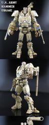 Hammer Drone Army Type by Jin-Saotome