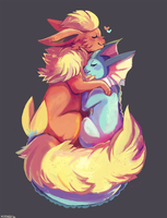 Cuddled Up by Xishka