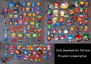 [ Sprite Sale ] + Pricelist by Aenea-Jones