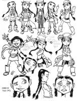 Charlie the Girl Concept Art by TessFowler