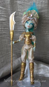 Oriental Warrior Princess Custom MH Doll by AlterDoll