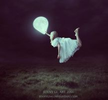 Moon Balloon 2 by JennyLe88