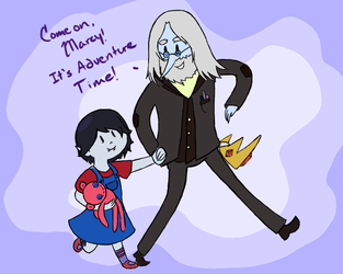 Come on Marcy, It's Adventure Time! by AtomicTaco24