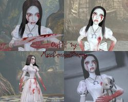 Alice Madness Returns - Hysteria Outfit by MissCreamBerry