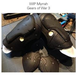 WIP Myrrah Gears of War by MAd-DurDen