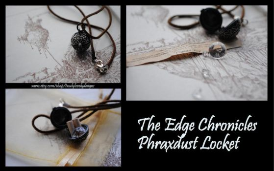 Edge Chronicles Captain Twig's Phraxdust Locket by yrantho