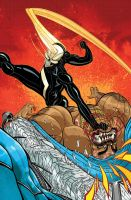 ALL-NEW GHOST RIDER #4 Cover color by nelsondaniel