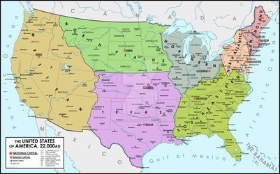 The United States, 22,000 A.D.