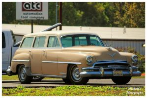 A 1954 Chrysler New Yorker Station Wagon by TheMan268