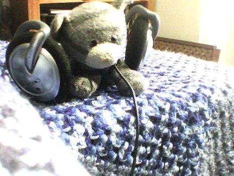 listening to some music by Tiger-the-cat