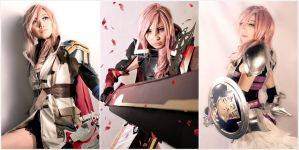 Final Fantasy XIII Trilogy Lightning Cosplay by Fantalusy