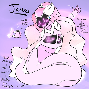 Java! RoboNoodle! by shayanbes