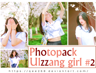 Photopack Ulzzang girl #2 by qee268