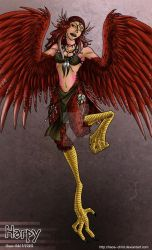 30 Monster Girls - 01 - Harpy by Chaos--Child