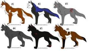 Special Adoptables 8 CLOSED by Dark-Wolf-Adoptables