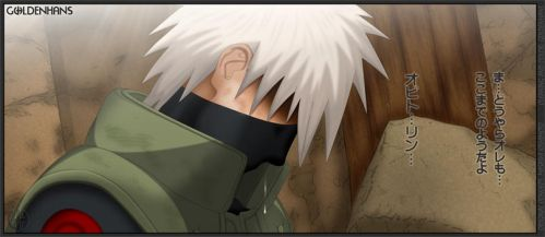 kakashi death by goldenhans