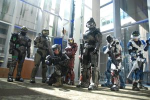 PAX - 405th Group Shot by Hyokenseisou-Cosplay