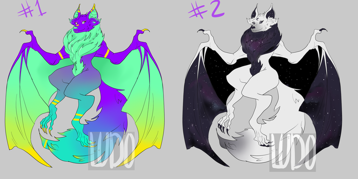 (OPEN) Bat Adopts! REDUCED PRICE! by ryuuwho