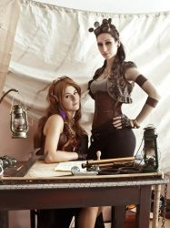 Steampunk: Sky Pirates by Shappi