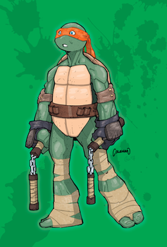 Michelangelo Colours by giantboydetective
