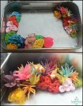 Miniature Coral Reef Tin WiP by Bon-AppetEats