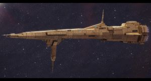 Republic Command Ship Reliance by Shoguneagle