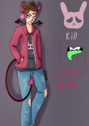 Demon boi adopt closed by HimeVargas