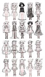 Doll Design Sketches by Delight046