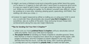 How to Get a Literary Agent by mree