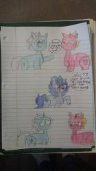 ice horse vs fire horse by kittygurl22