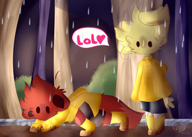 The rain by PaPaCoco
