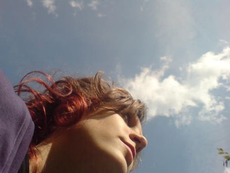 Me and the sky by lizy1993