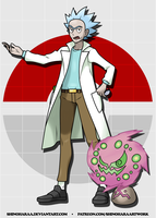 Rick Sanchez and Spiritomb