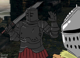 Tarkus And Iron Golem by MisterFeelgood