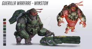 Guerilla warfare - Winston by eko999